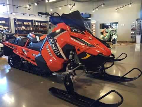 2016 Polaris 800 SKS 155 LE Orange Burst in North Canton, Ohio