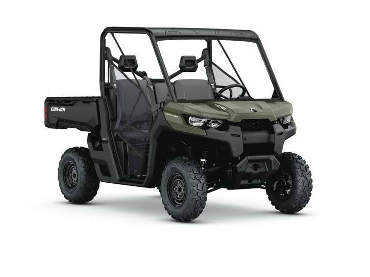 2016 Can-Am Defender HD8 in Leesville, Louisiana