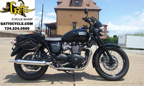 2015 Triumph Bonneville T100 Black in Tarentum, Pennsylvania