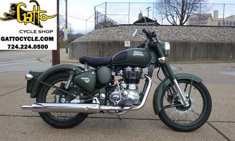 2017 Royal Enfield Classic Military in Tarentum, Pennsylvania
