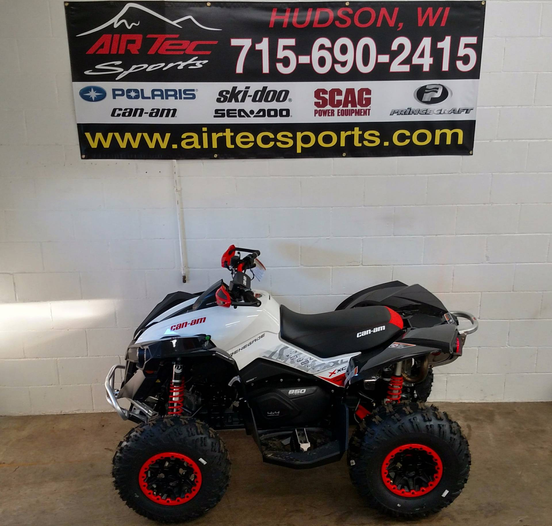 2017 Can-Am Renegade® X® xc 850 in Hudson, Wisconsin