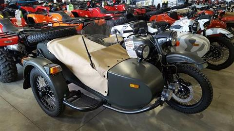 2016 Ural Motorcycles Gear-Up in Spearfish, South Dakota