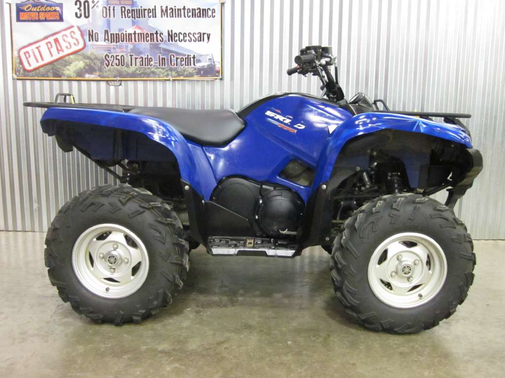 Used 2011 Yamaha Grizzly 550 Fi Auto 4x4 Atvs In