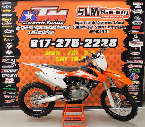 2016 KTM 450 SX-F in Arlington, Texas