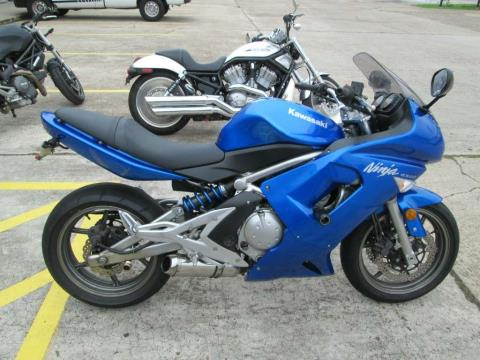 2007 Kawasaki Ninja® 650R in Houston, Texas