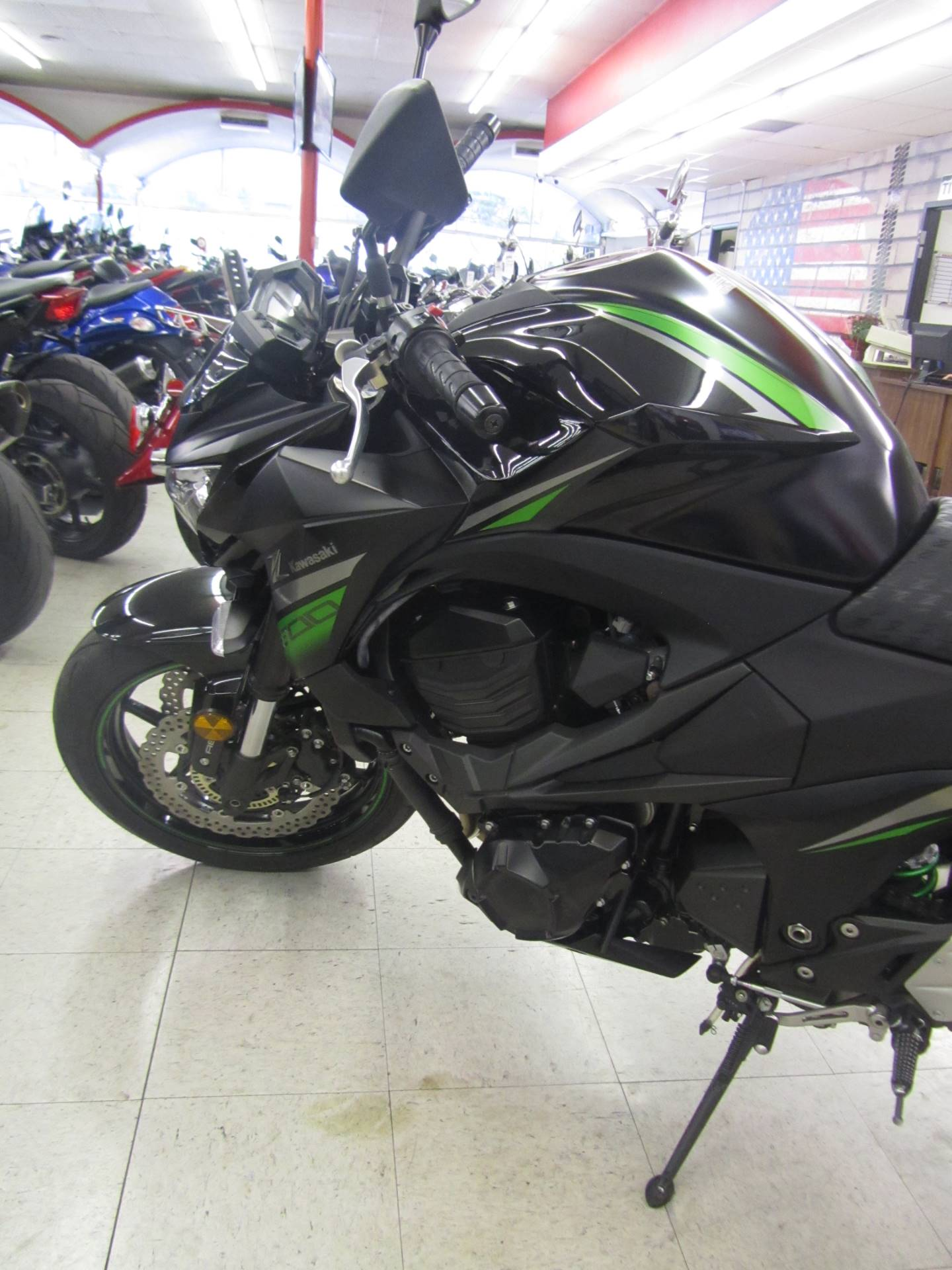 2016 Kawasaki Z800 ABS in Colorado Springs, Colorado