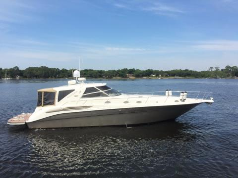 1999 Sea Ray 450 Sundancer (repowered in 2010) in Niceville, Florida