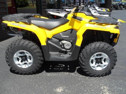 2013 Can-Am Outlander™ DPS™ 650 in Eagle River, Wisconsin