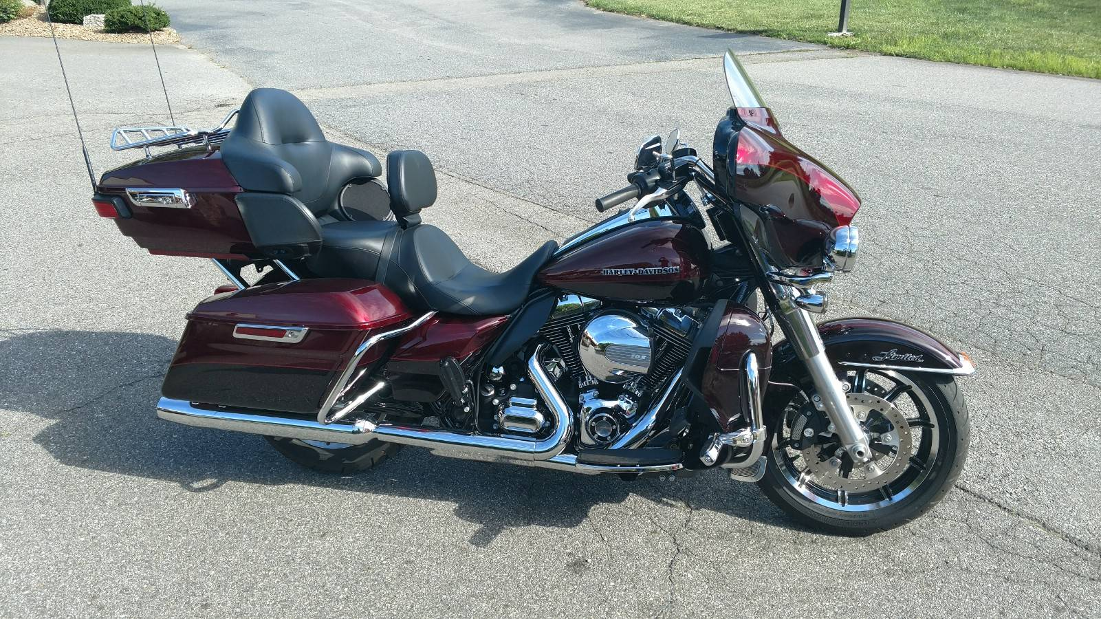 2015 Harley-Davidson Ultra Limited Low in Waynesville, North Carolina