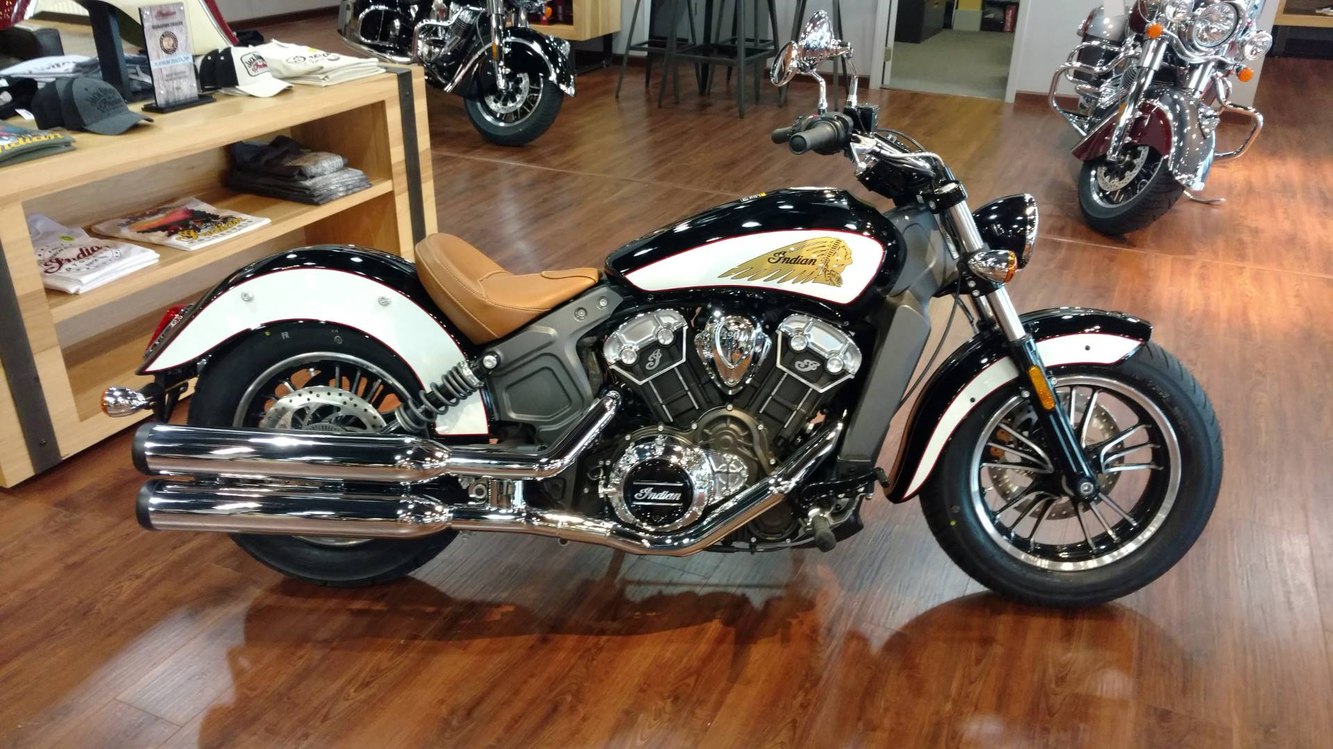2017 Indian Scout® ABS Icon Series in Waynesville, North Carolina