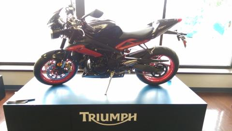 2016 Triumph Street Triple Rx ABS in Shelby Township, Michigan