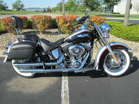 2015 Harley-Davidson Softail® Deluxe in Plain City, Ohio