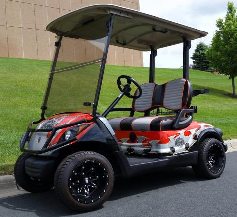 Ultimate golf carts is located in otsego mn shop our for Yamaha golf cart repair near me