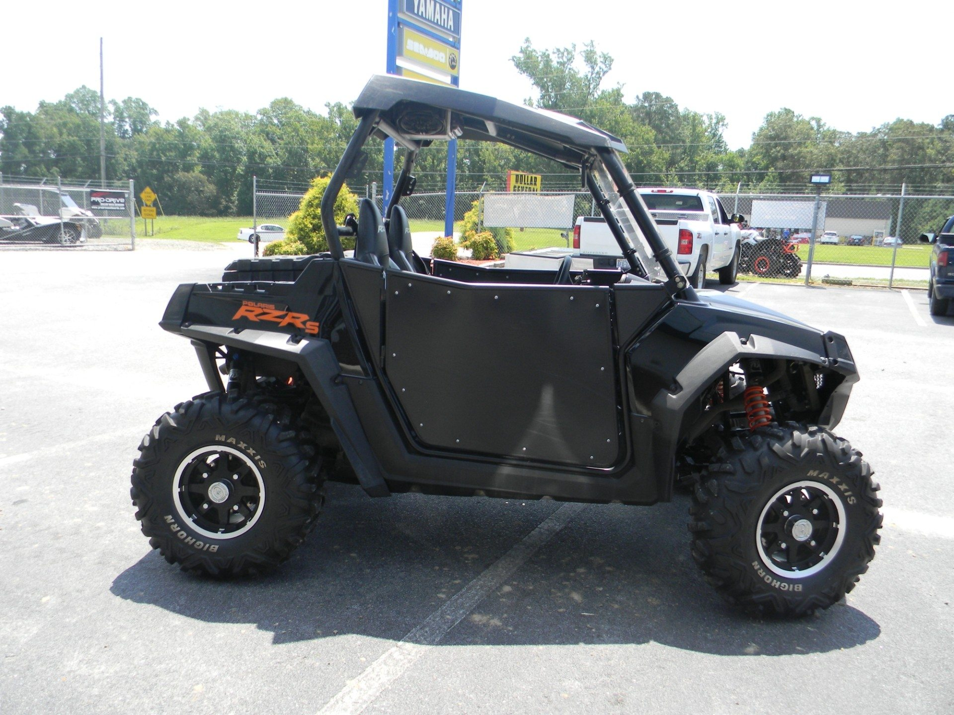 2013 polaris rzr s 800 le for sale greenville nc 541579. Black Bedroom Furniture Sets. Home Design Ideas