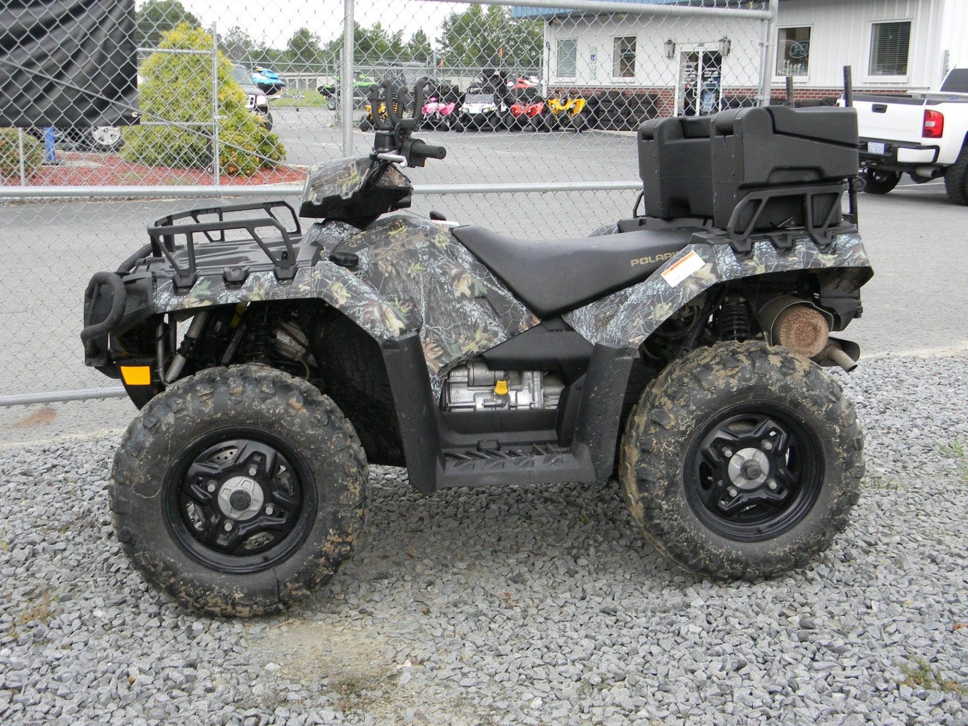 2009 Sportsman 550 XP EFI  with EPS