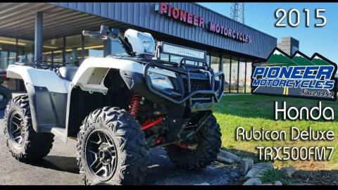 2015 Honda FourTrax Foreman Rubicon 4x4 EPS Deluxe in Winchester, Tennessee