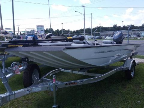 2017 Alumacraft Crappie Deluxe Stick Steer in Lake City, Florida