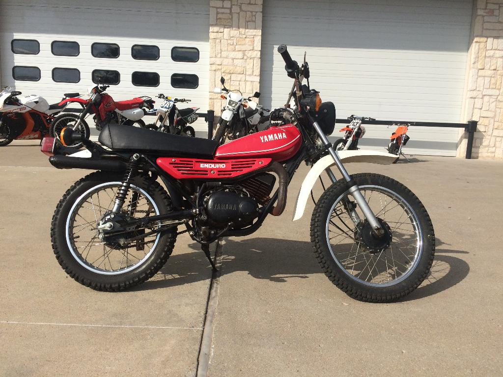 used 1980 yamaha dt 100 motorcycles in denton tx