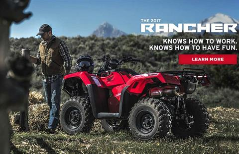 2017 Honda FourTrax® Rancher® 4x4 DCT EPS in Scottsdale, Arizona