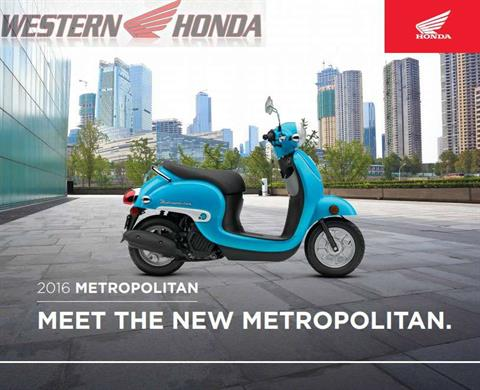 2016 Honda Metropolitan® in Scottsdale, Arizona