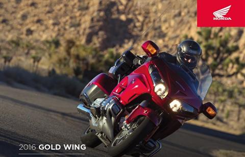 2016 Honda Gold Wing® Navi XM ABS in Scottsdale, Arizona