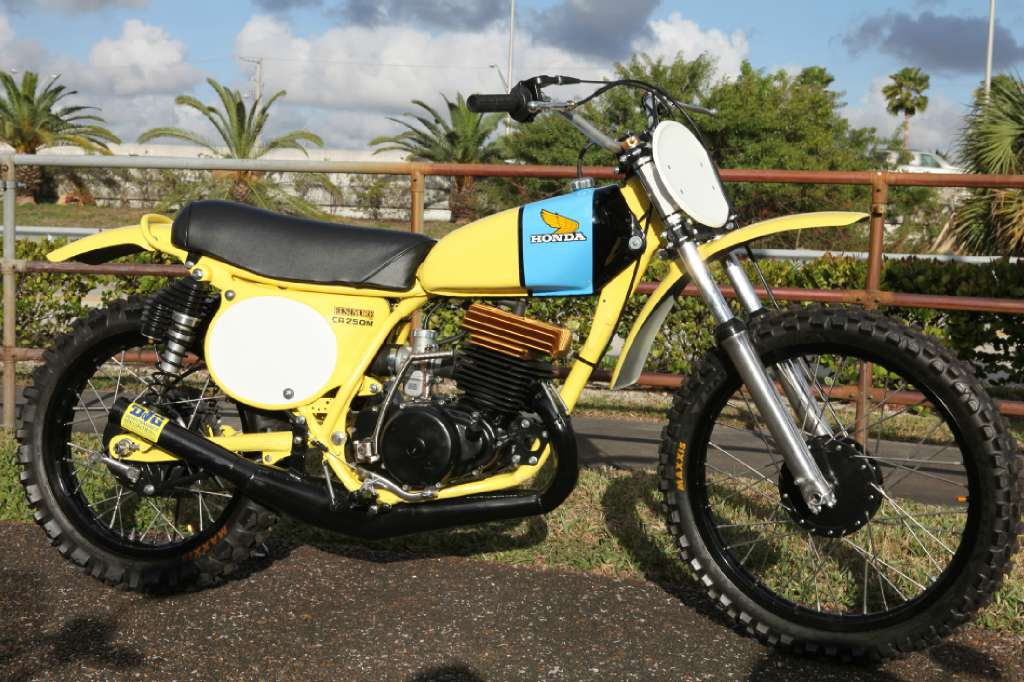 1973 CR250 Elsinore DG Replica