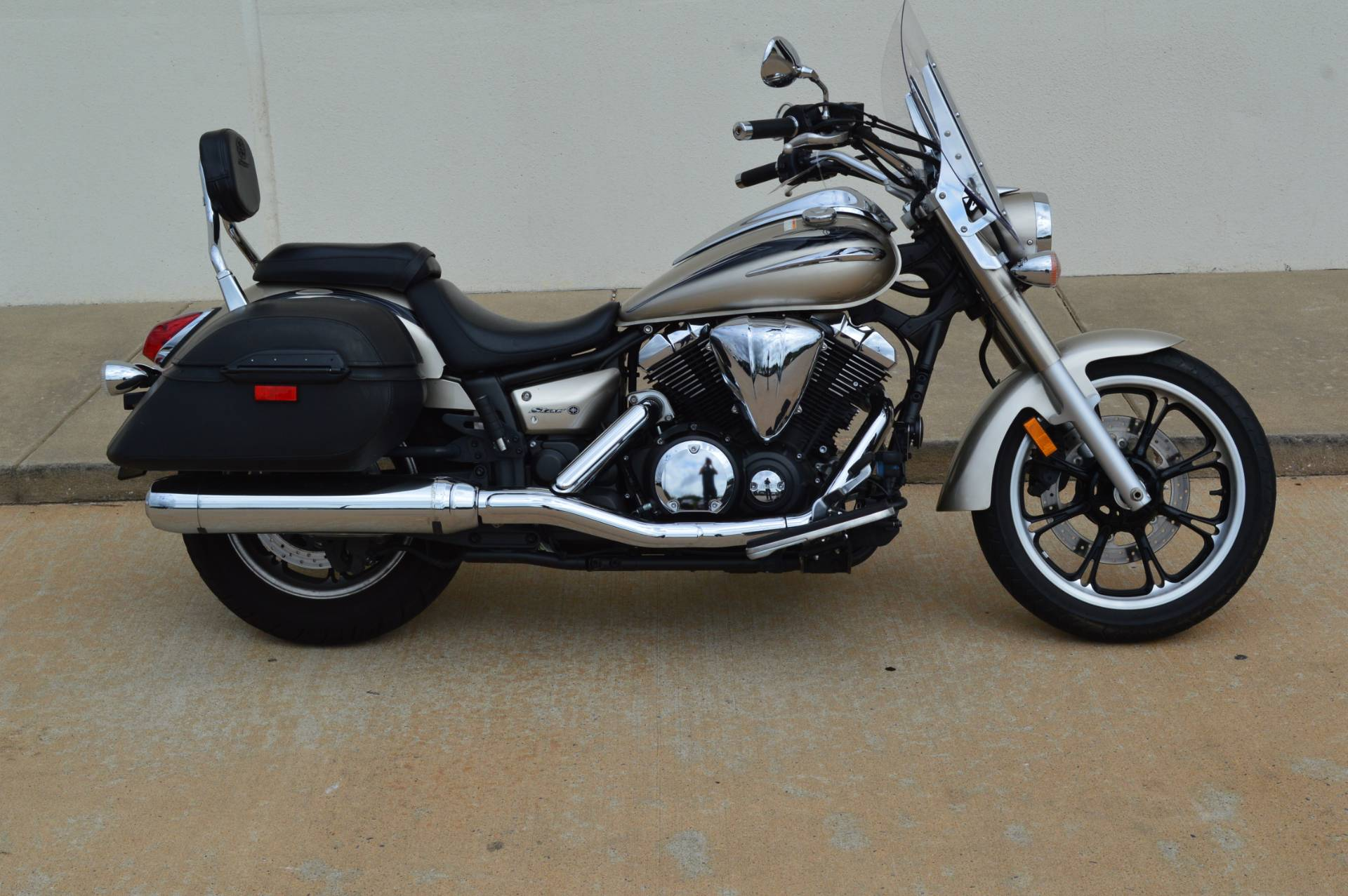 2010 yamaha v star 950 tourer motorcycles shawnee oklahoma for Yamaha motorcycles okc