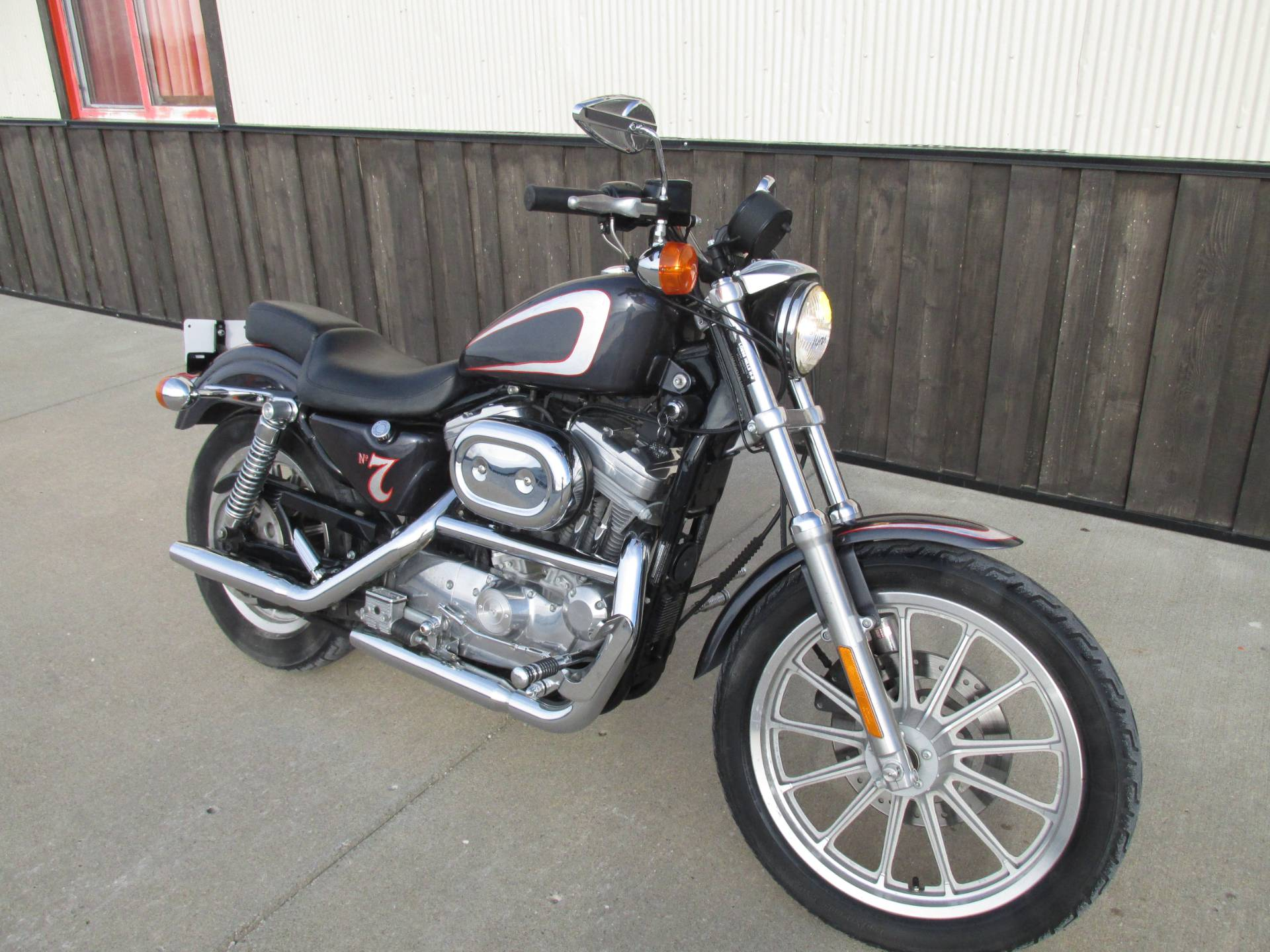used 2001 harley davidson xlh sportster 883 motorcycles in pacific junction ia stock number. Black Bedroom Furniture Sets. Home Design Ideas
