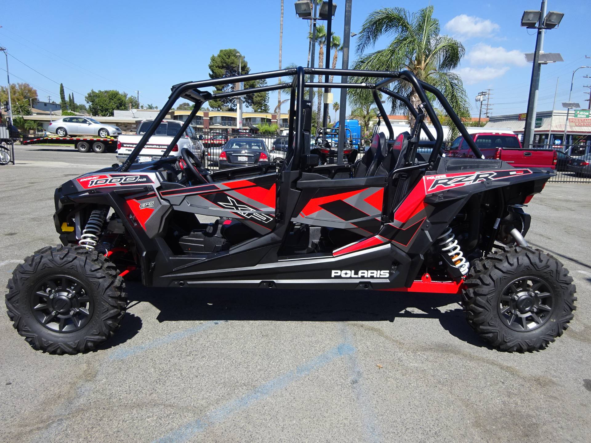 new 2017 polaris rzr xp 4 1000 eps utility vehicles in harbor city ca stock number 1216 1865. Black Bedroom Furniture Sets. Home Design Ideas