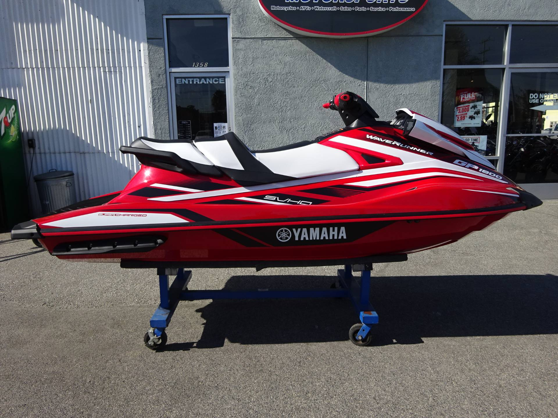 New 2017 yamaha gp 1800 watercraft in harbor city ca for Yamaha phone number