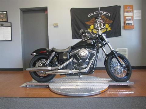 2015 Harley-Davidson Street Bob® in Manchester, New Hampshire