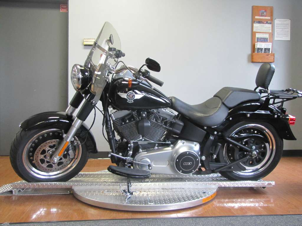 used 2015 harley davidson fat boy lo motorcycles in manchester nh stock number mp16081. Black Bedroom Furniture Sets. Home Design Ideas