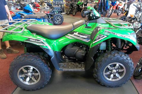 2016 Kawasaki Brute Force® 750 4x4i EPS in Petersburg, West Virginia