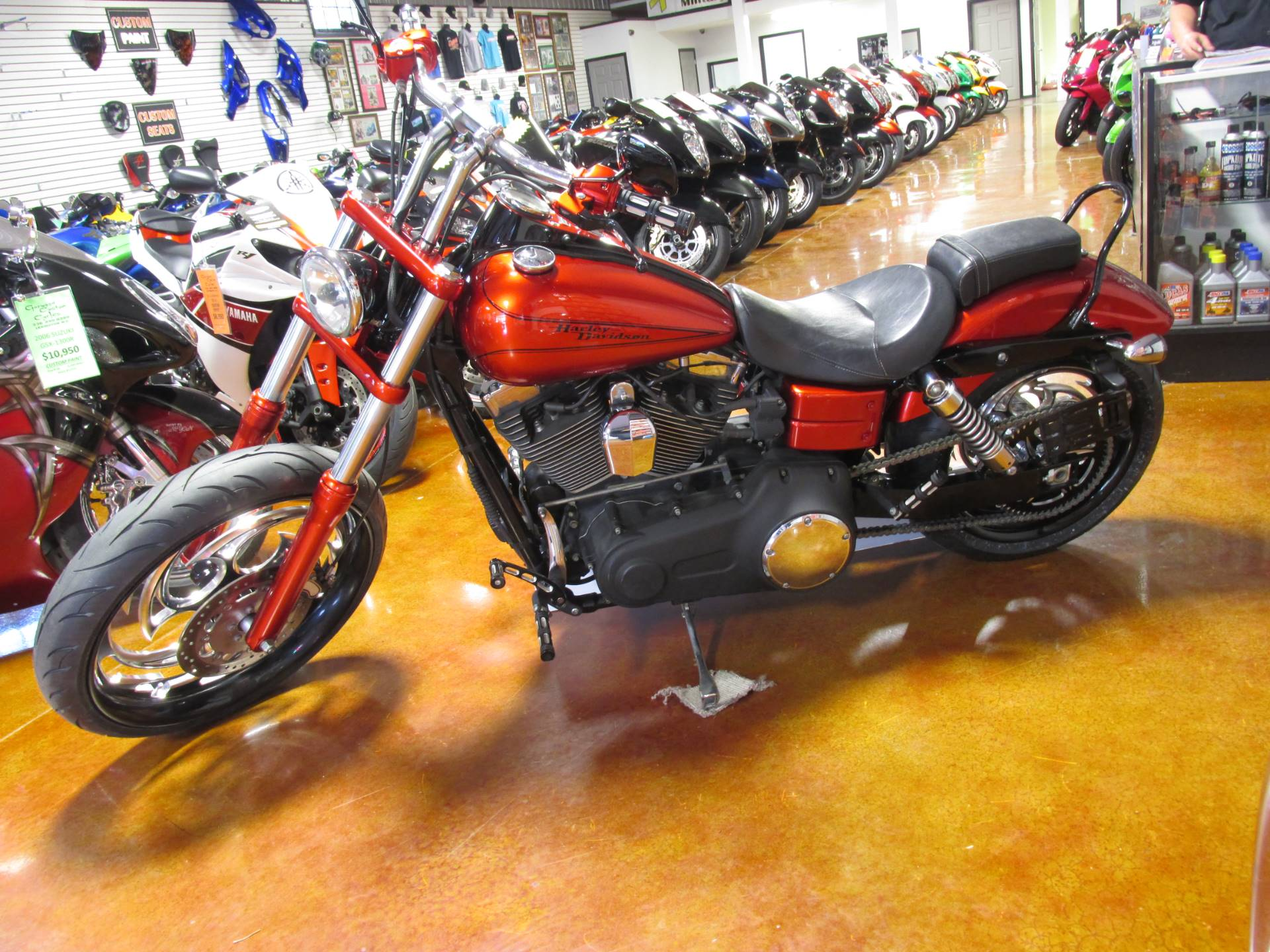 2011 Harley Davidson DYNA WIDE GLIDE in Lexington, North Carolina