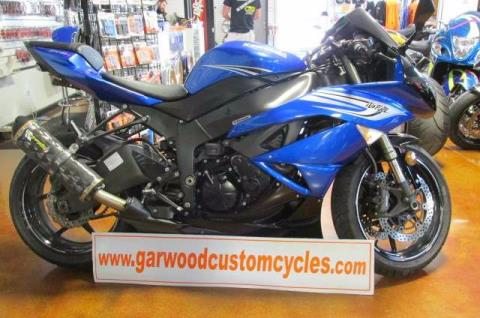 2011 Kawasaki ZX-600 in Lexington, North Carolina