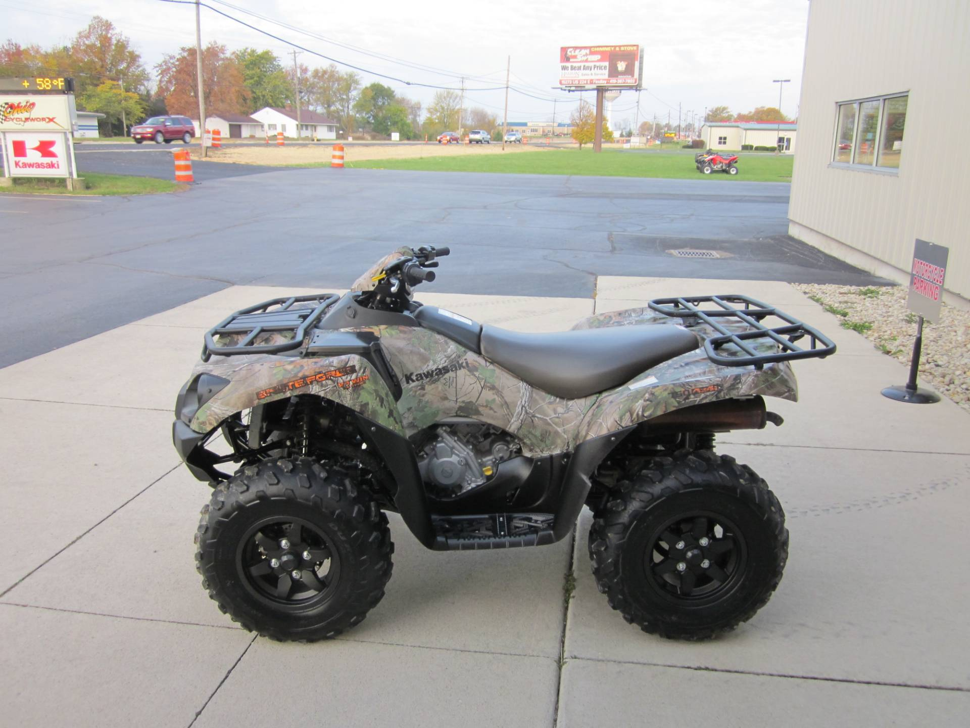 Used 2015 Kawasaki Brute Force® 750 4x4i EPS Camo ATVs in Lima, OH
