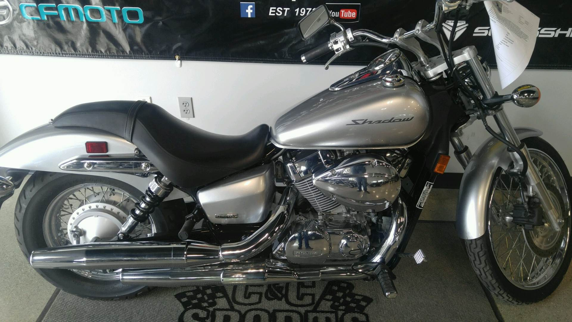 2008 Honda VT750C2 Shadow Spirit in Brighton, Michigan