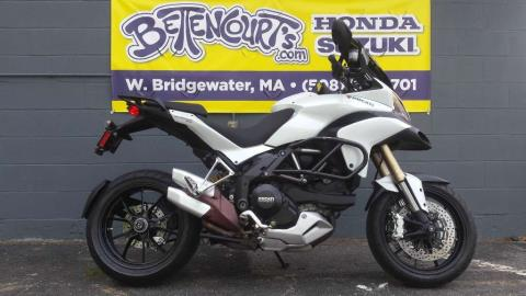 2010 Ducati Multistrada 1200 in West Bridgewater, Massachusetts