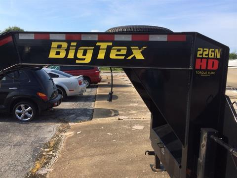 2015 Big Tex Trailers 22GN-40 in Florence, Alabama