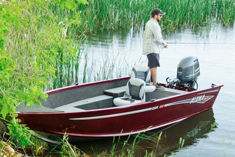 2017 Alumacraft Escape 165 Tiller in Trego, Wisconsin