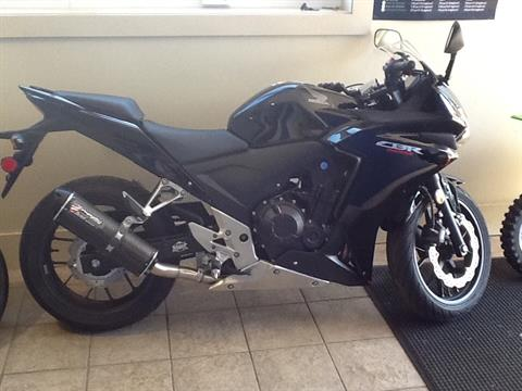 2013 Honda CBR®500R in Laconia, New Hampshire