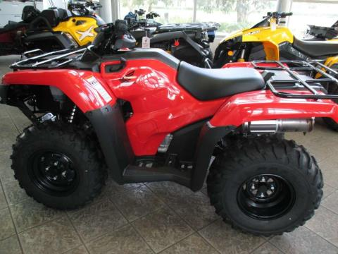2016 Honda FourTrax® Rancher® 4x4 Automatic DCT Power Steering in Irvine, California