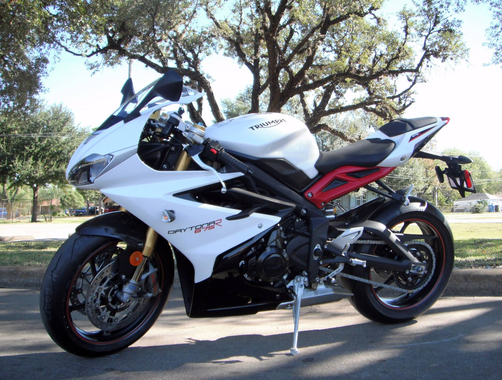 new 2017 triumph daytona 675 r motorcycles in south houston tx. Black Bedroom Furniture Sets. Home Design Ideas