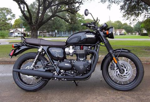 2017 Triumph T120 BLACK in South Houston, Texas