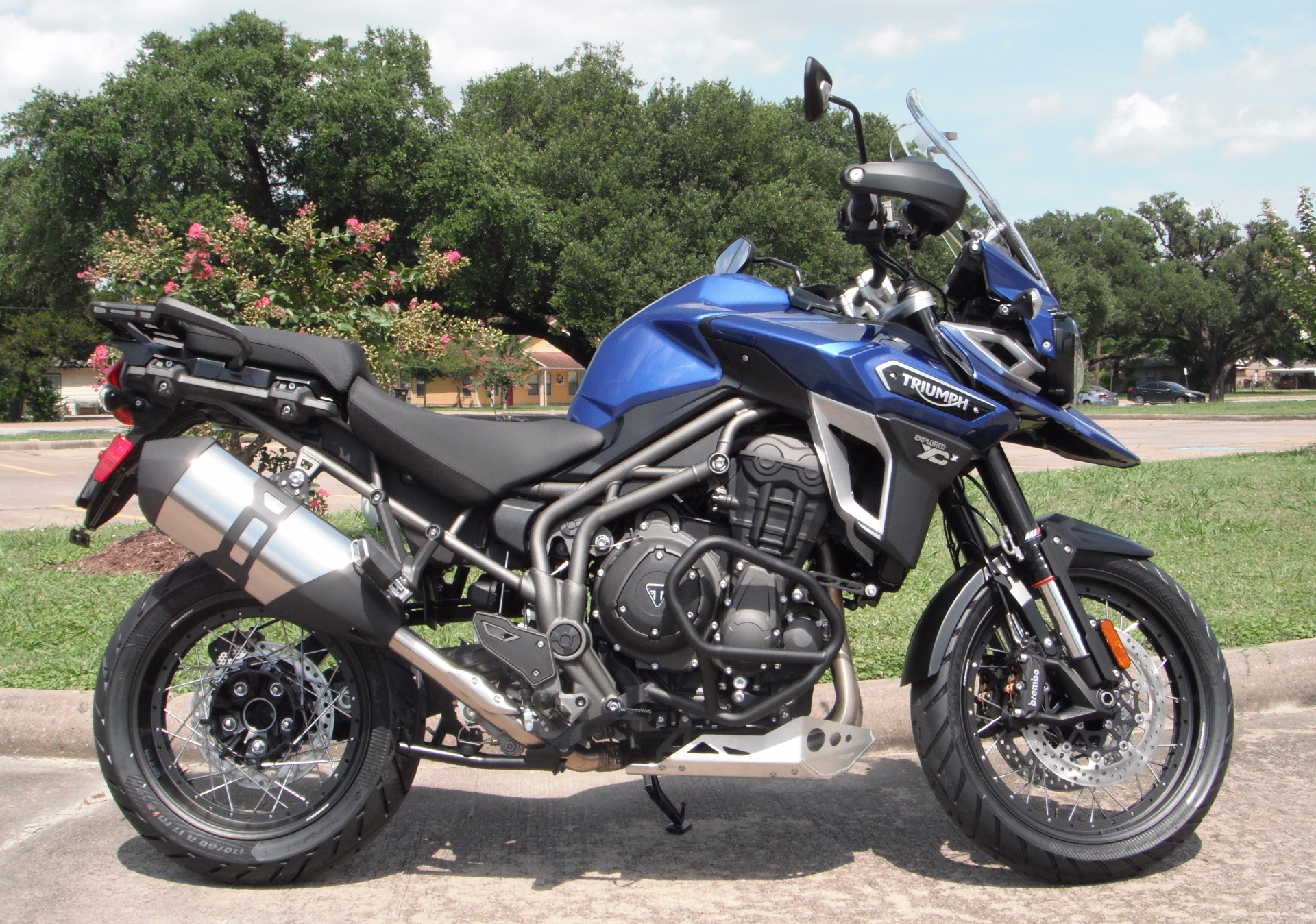 new 2017 triumph tiger explorer xcx motorcycles in south houston tx. Black Bedroom Furniture Sets. Home Design Ideas