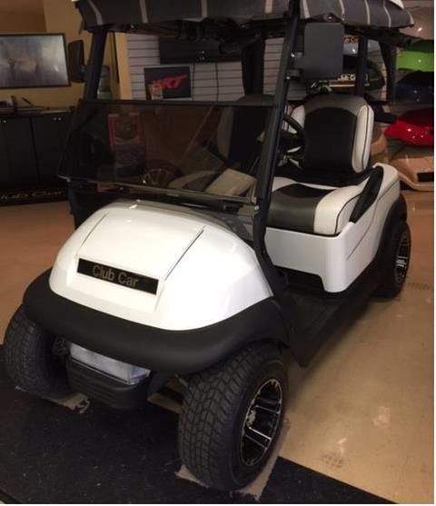 2017 Club Car Precedent Remanufactured in Bluffton, South Carolina