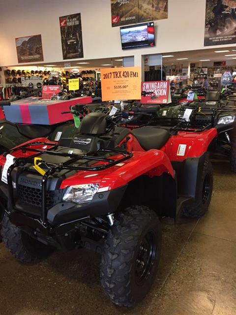 2017 Honda FourTrax® Rancher® 4x4 in Middletown, New York