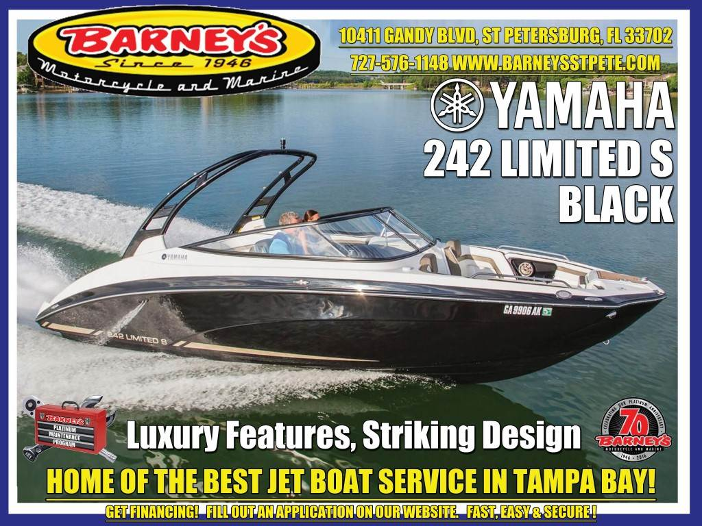2017 yamaha 242 limited s 24 foot black 2017 yamaha boat