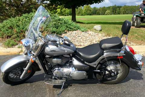 2009 Suzuki Boulevard C50 Special Edition in Dimondale, Michigan