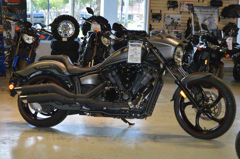 New 2016 yamaha stryker bullet cowl motorcycles in west for Yamaha stryker bullet cowl for sale